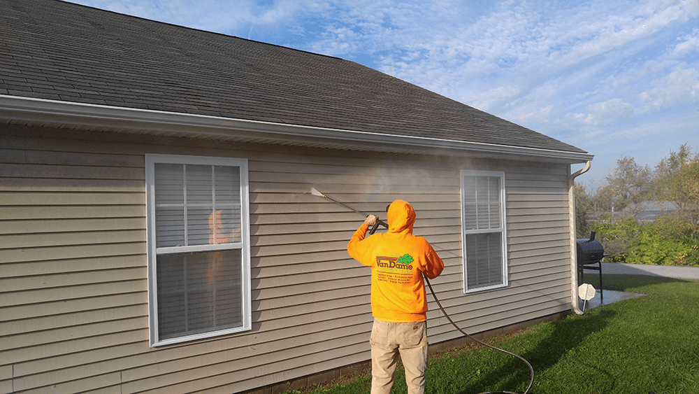 power washing services by van dame really freshen up your existing siding