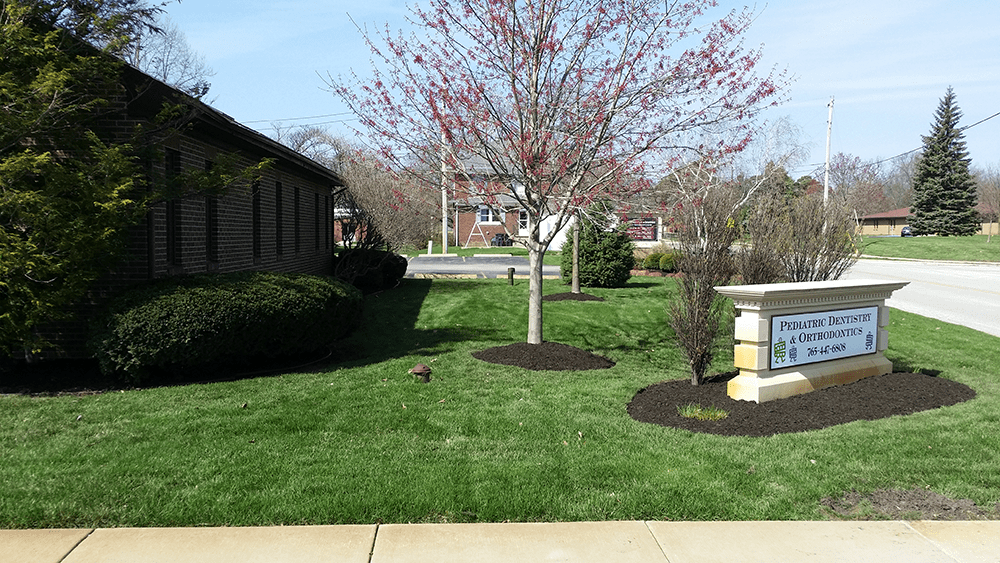 spruce up your business with fresh mulch by van dame outdoor maintenance lafayette indiana