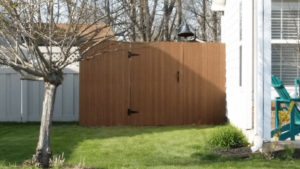 custom fencing options by van dame outdoor maintenance lafayette indiana