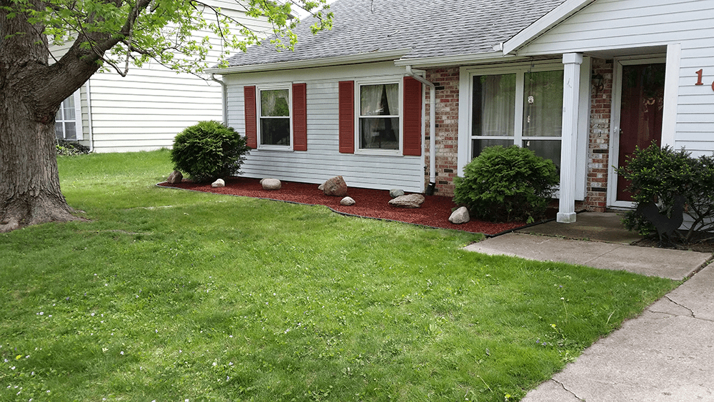 van dame lafayette indiana offers simple landscaping options